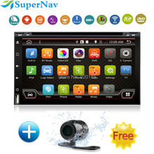 2Din Android 4.4 Car Tap PC Tablet 2 din Universal Android For Nissan Hyundai with DVD GPS Navigation BT Radio Stereo Audio
