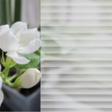Striation Glass Sticker Static Cling Removable Window Film For Bathroom living room Slide Door Scalable DIY home Decor 40*200cm