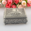 Fashion European Style Metal Jewelry Case Zinc-aloy Trinket box Christmas Gift Packing  Necklace Package BO24967107