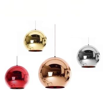 Globes De Luminaires | Miroir Boule De Verre Globe Suspension Suspension Lampe Nordique Sphérique Salon Loft Corde Classique Maison Luminaire Suspendu Luminaire