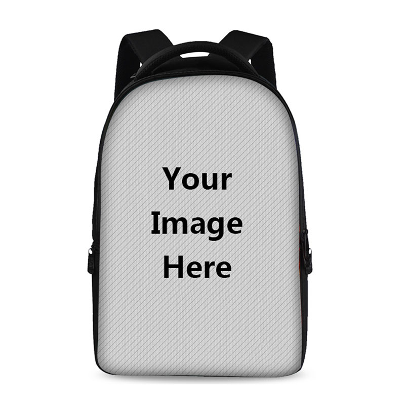 17 Inch Customized Printing School Backpack Youth Boy Girl Laptop Bag Store 15 Inch Computer Children's Favorite DIY Multi Bags 14 15 15 6 inch flax linen laptop notebook backpack bags case school backpack for travel shopping climbing men women