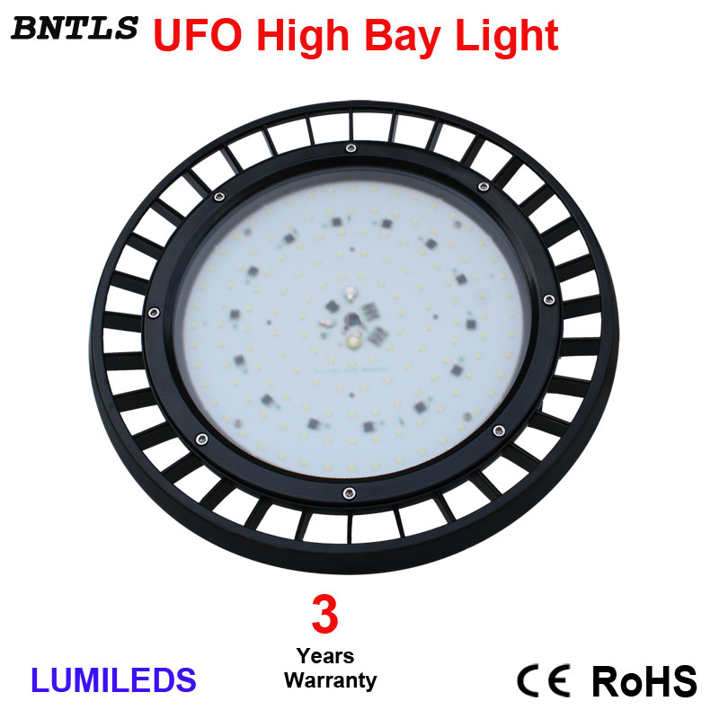 LED High Bay Light Lamp With 120D Reflector - Cool White 5700K - For Commercial, Warehouse, Factory, Industrial Use