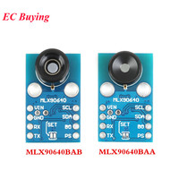 Módulo Da Câmera Do IR 32*24 MLX90640 GY-MCU90640 Infravermelho Termométrica Dot Matrix Módulo Sensor Sensor de 32x24 MLX90640BAA MLX90640BAB