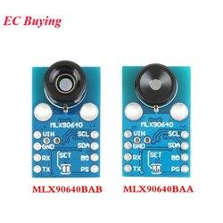 MLX90640 وحدة الكاميرا IR 32*24 GY-MCU90640 الأشعة تحت الحمراء الحرارية نقطة مصفوفة الاستشعار 32x24 وحدة الاستشعار MLX90640BAA mlx90640door