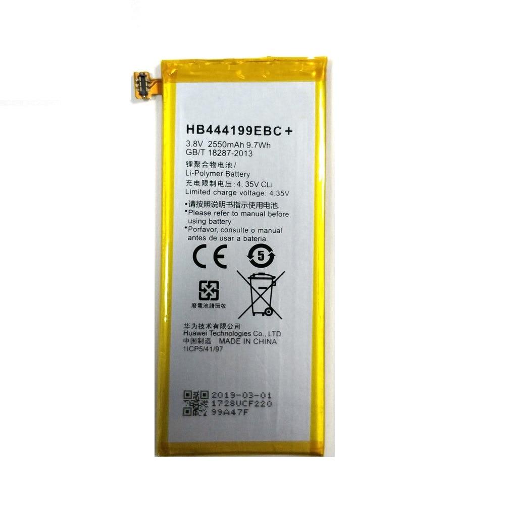 2019 New HB444199EBC+ 2550mAh Phone Battery Replacement For Huawei Honor 4C C8818 Phone