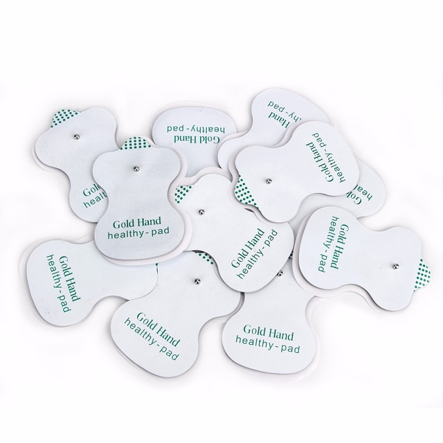 100pcs/80pcs/50pcs Electrode Pads for JR-309 Tens Acupuncture Slimming massage and Digital Therapy Machine Massager Healthy Pads 5