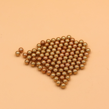 1/4'' Inch ( 6.35mm ) 500 PCS Solid Brass ( H62 )  Bearing Ball Free Shipping
