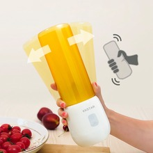 450ML Portable Blender Multi-function Juicer 6 Blade Mini Juice Cup Household Food Soymilk Fruit Mixer Baby Food Squeezer Gift цена и фото