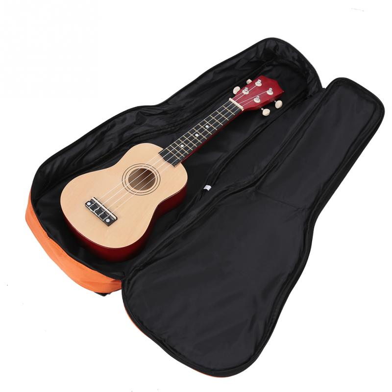 IRIN Wear-resistance Ukulele Bag Thicken Oxford Cloth Shockproof Protective Carry Case Bag for 26inch Ukelele 3 Colors