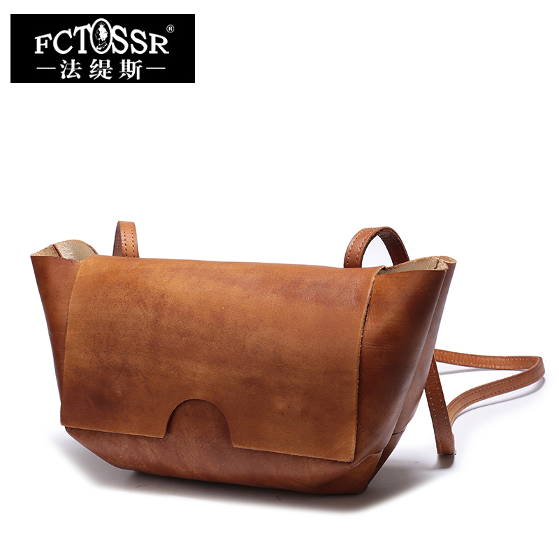 Vintage Women Hand Small Shoulder Bags Genuine Leather Handmade Messenger Bags Hasp Close Crossbody Bags 2018 women bags handmade genuine leather small messenger crossbody bags embossed leather shoulder women bags day clutches
