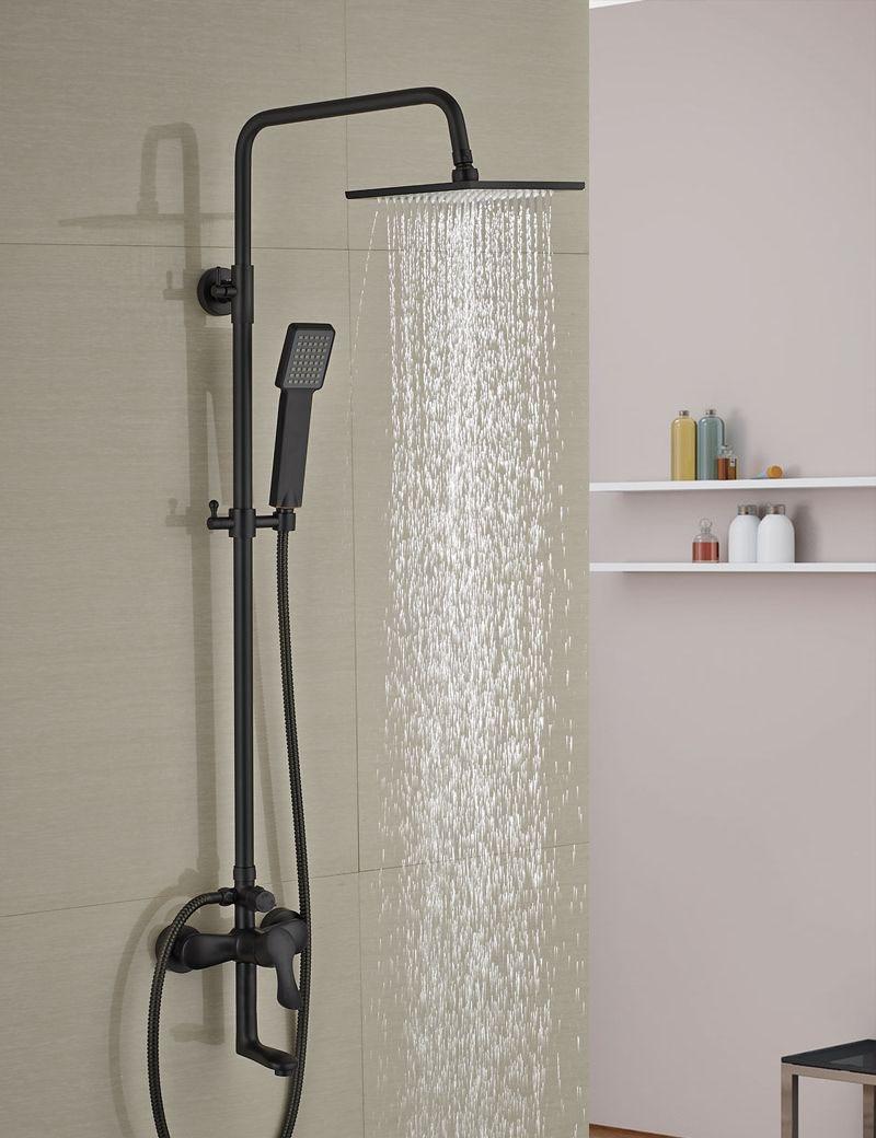 Mesmerizing Rain Shower Head With Handheld Spray Images - Best ...
