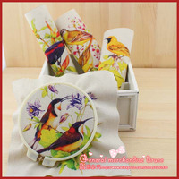 Special offer !  4Pieces/lot 20x20cm Assorted Bird Cotton sewing linen fabric Diy Cloth for Patchwork Quilting Tilda