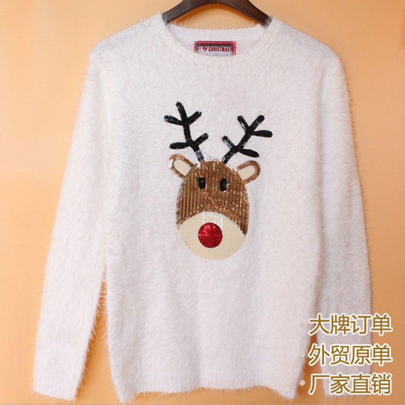 Online Get Cheap White Deer Sweater -Aliexpress.com | Alibaba Group