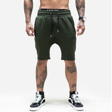 2017 New Men's Short homme Sporting Shorts men bermuda Casual brand clothing Letter Elastic Waist  jogger Shorts