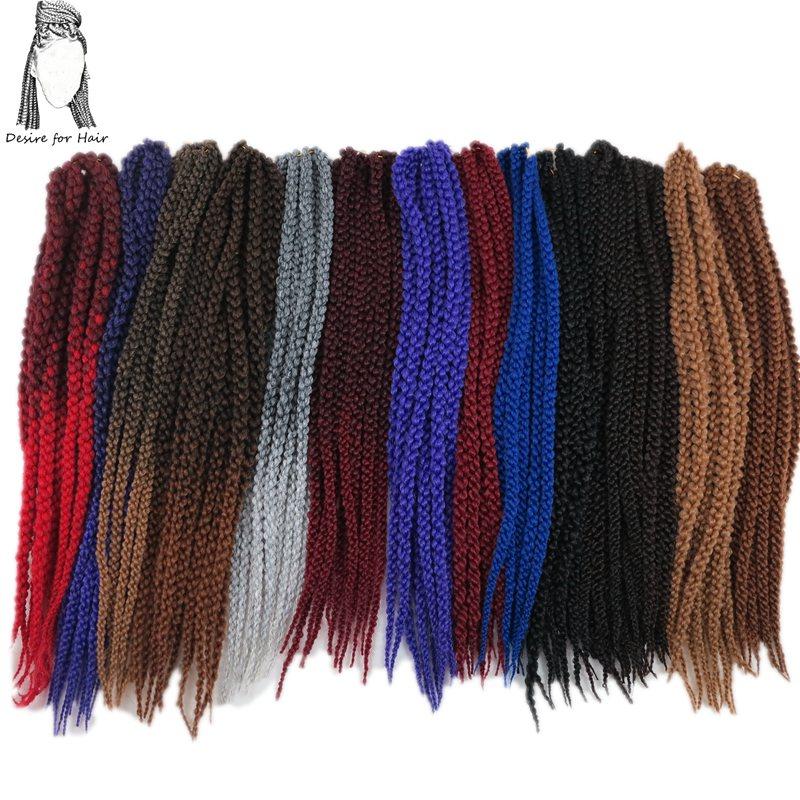 Touha po vlasech 22inch 120g 12strands 8packs syntetický 3D kubický - Syntetické vlasy