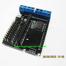 5pcs/lot NodeMCU Motor Shield Board L293D for ESP-12E from ESP8266 esp 12E kit diy rc toy wifi rc smart car remote control