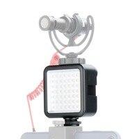 Ulanzi 49 LED Video Licht für DJI OSMO Mobile 2  Zhiyun Glatte 4 Gimbal Stabilisator  Canon  nikon  SONY Digital DSLR Kameras