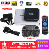 MECOOL M8S PRO Plus Android TV Box M8S PRO Plus Android 7 1 2G RAM 16G