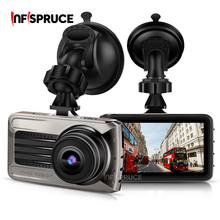1018PHD Infispruce Car Dash Cam Cámara del coche dvr de Conducción de Vídeo grabadora de Mini Coche Blackbox Dash board Cámara Construido En La Noche visión