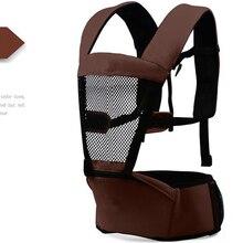 эргономичный рюкзак переноски детей Hipseat детские Новый Дизайн кенгуру мандука младенцы малышей рюкзак слинг талии размер 90-110 см слинги для младенцев