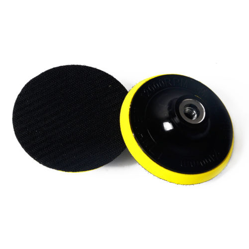 M10 M14 Auto Polisher Bonnet Backing Pad Dia. 80,100,125,150,180mm Angle Grinder Wheel Sander Paper Disc Car Polishing Pad Tool  цены
