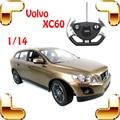 Presente de Ano novo 1/14 V XC60 Rádio RC Carro SUV Grande Remoto Brinquedo Carros Drift RC Caminhão de Buggy Carro de controle Do Veículo Para Presente do Divertimento