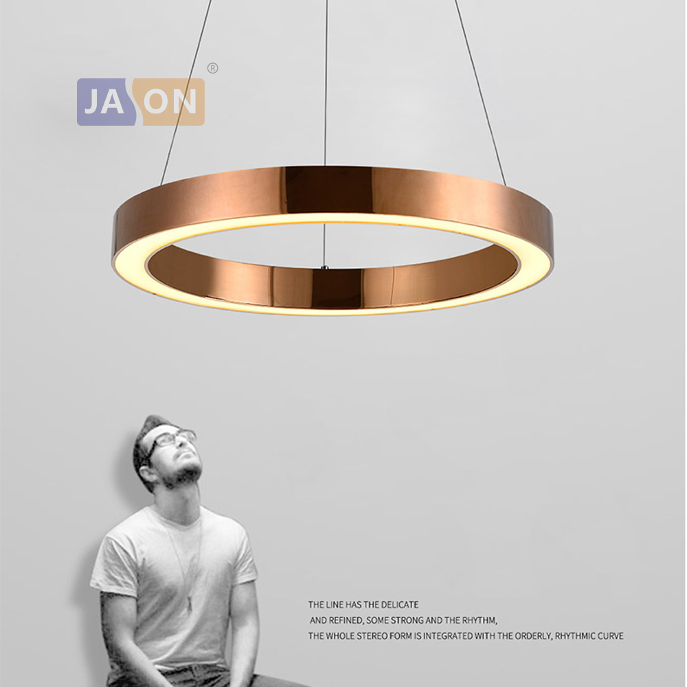 LED Nordic Stainless Steel Acryl Chrome Gold LED Lamp LED Light.Pendant Lights.Pendant Lamp.Pendant light For Dinning Room