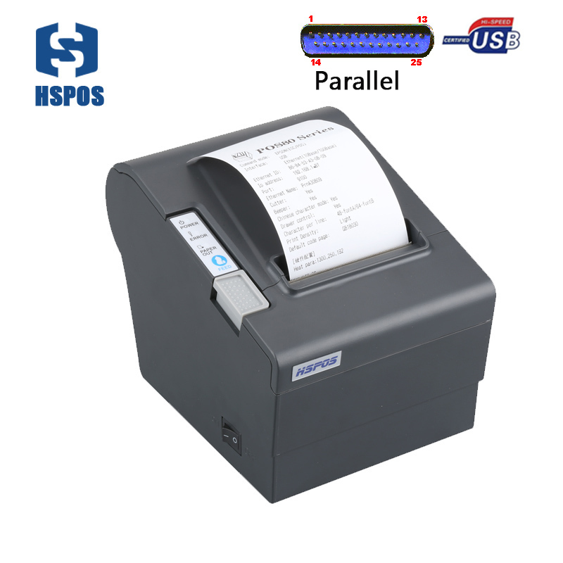 Thermal receipt printer 80mm best price with usb and parallel port high quality printing and low cost support android мусс wella professionals root shoot eimi 200 мл