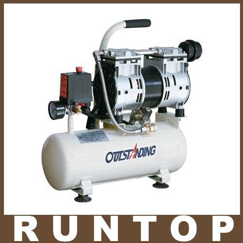 High Quality 600W OTS-600-8L Air Compressor Pump oil free air compressor high pressure gas pump spray woodworking air compressor small pump 3 1100 100l
