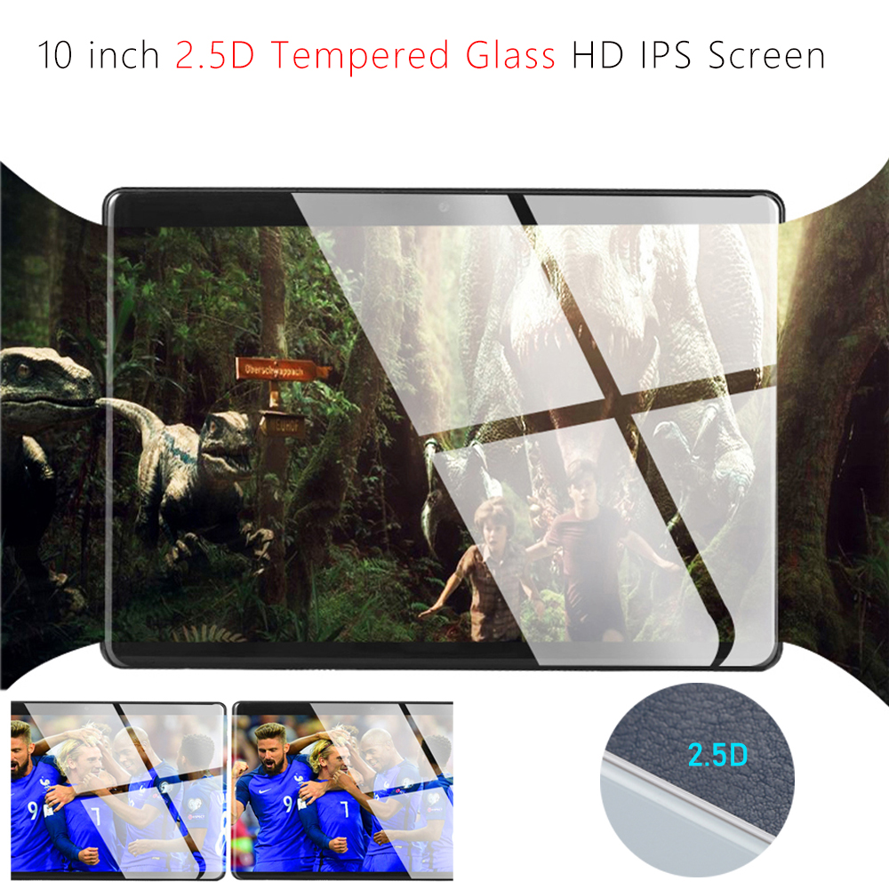 Image 2 - 2020 New 10 inch Tablet PC Octa Core 6GB RAM 128GB ROM 1280*800 IPS 2.5D Tempered Glass 10.1 Tablets Android 9.0+Gifts-in Tablets from Computer & Office