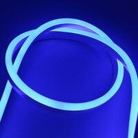 LED Flexible Strip Light AC 220V SMD 2835 LED Neon light IP68 Waterproof rope string lamp + EU Power plug