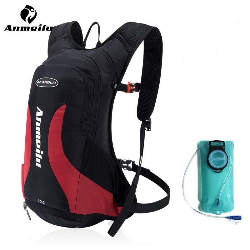 ANMEILU 2L Outdoor Water Bag Ultralight Sports Running Hiking Climbing Bicycle Cycling Hydration Backpack Pack Bladder Equipment hydration pack water rucksack backpack cycling bladder bag hiking climbing pouch