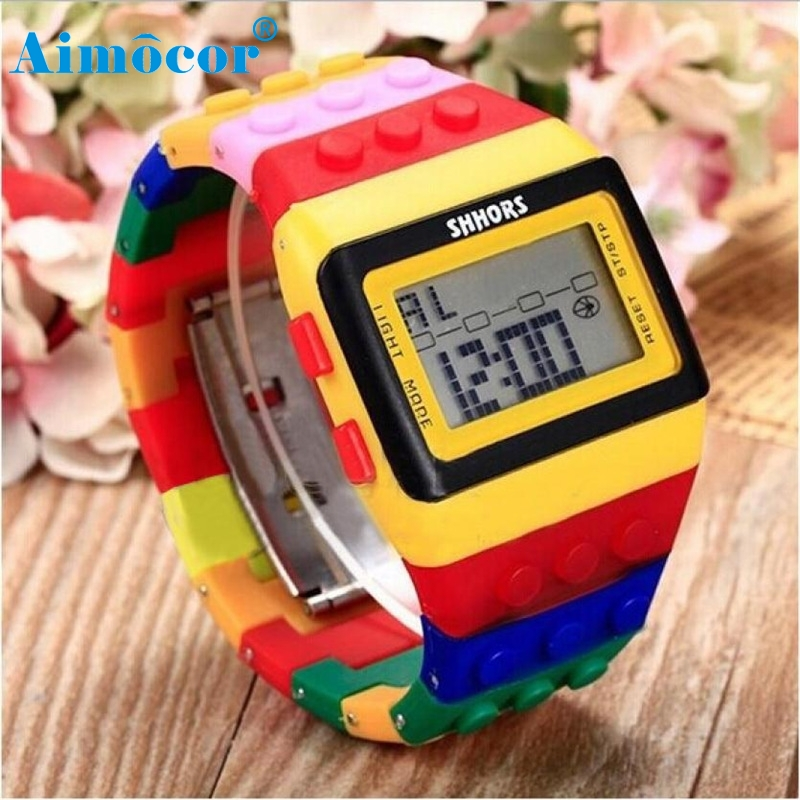 Hot 2017 High Quality New Fashion Newly Designed HOT Unisex Stylish Colorful Digital Sport Wrist Watch Levert Dropship 512