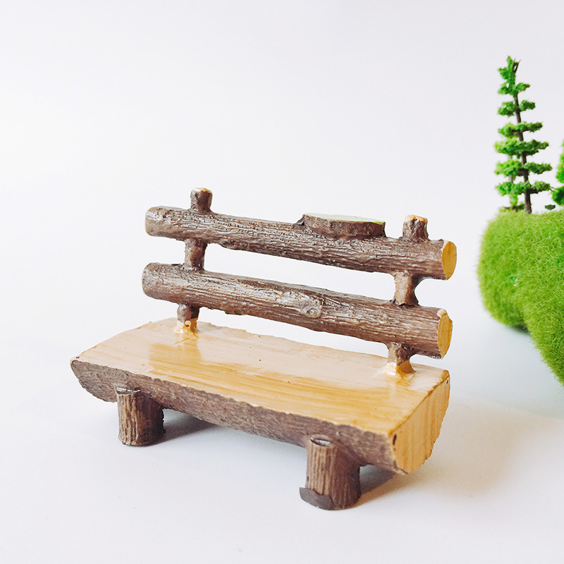 sale~1Pcs/chair/doll house//miniatures/lovely cute/fairy garden gnome/moss terrarium decor/crafts/bonsai/ DIY/p020