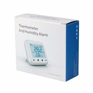 Image 5 - KERUI TD32 LED ekran kablosuz sıcaklık ayarlanabilir alarmlı dedektör sensörü ile uyumlu gsm ev güvenlik alarm sistemi