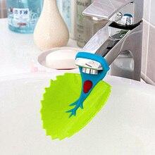 Марка качества животных раковина ванная кухня малыш водопроводной воды кран extender для детей дети ребенок мытье рук продукты по уходу за