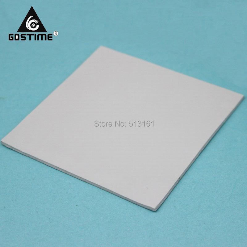 10 Pieces lot Gdstime 100mm 100mm 1 5mm CPU Heatsink Chip Thermal Conductive Silicone Pad in Fans Cooling from Computer Office
