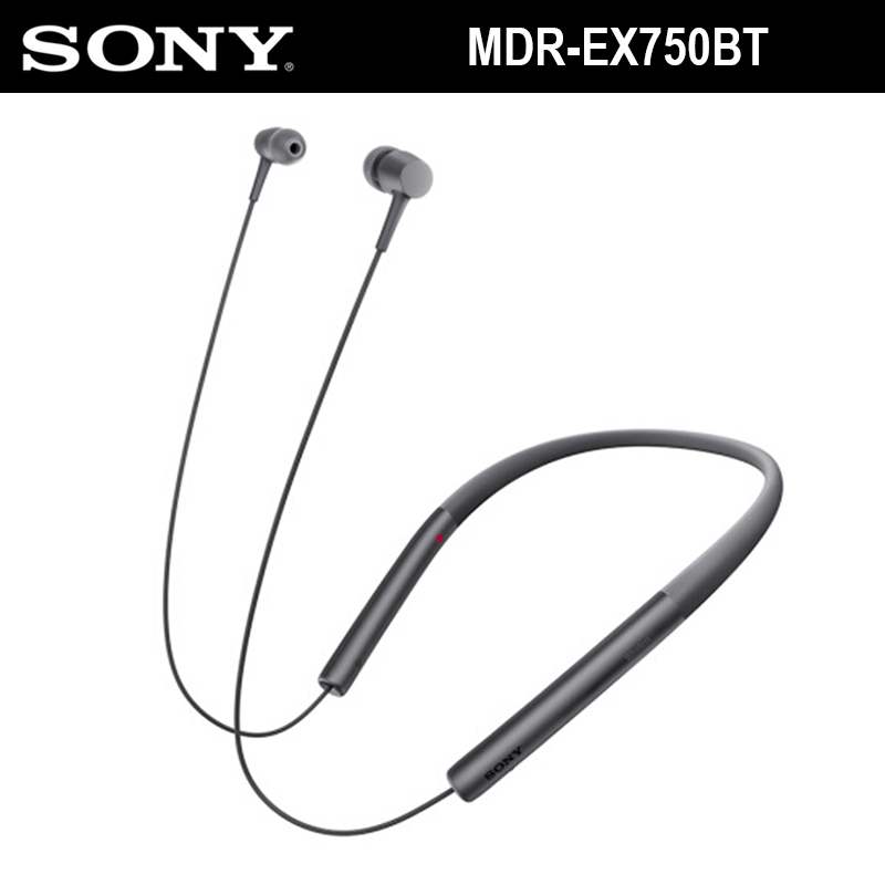 SONY MDR-EX750BT Hear In Wireless Bluetooth In-ear Stereo Earphones Sport High-Resolution Audio Headset With Mic For Smartphones