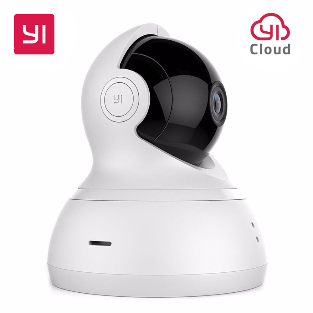 YI Dome Camera 720P Home Security Cam WIFI Pan/Tilt/Zoom Wireless IP Night Vision Security Surveillance System HD Global Version