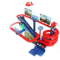 Dzieci Muzyki i Światła Wagonu Thomas Zabawki Railroad Dzieci Duże Rollercoaster utworu Kid Elektryczne Pociągu Kolejowe Montażu Zabawki