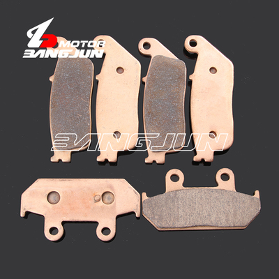 Motorcycle Front Rear Metal Brake Pads For <font><b>SUZUKI</b></font> <font><b>AN650</b></font> <font><b>Burgman</b></font>/Skywave 2004-2012 image