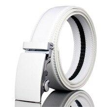 Mens Leather Belts Fashion 2017 Men Belt Luxury Famous Brand Men's High-end Leisure Automatic Buckle Belt Belt Buckles Metal