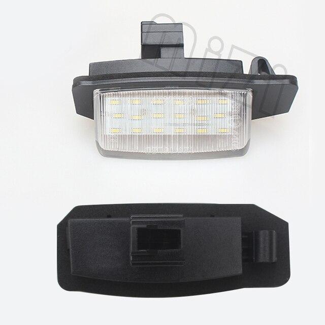 Lumière de plaque dimmatriculation de 2x led | Pour Mitsubishi Lancer Sportback 2008 ~ 12 / OUTLANDER XL(CW) 2006-2012 accessoires de pièces de voiture