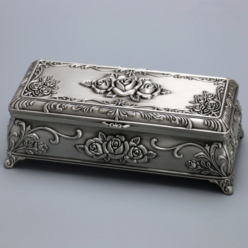 Continental Refinement Princess Secret Jewelry Music Box Metal Personality Creative Artware Gift High Quality Collection L880 refinement carousel music box house and