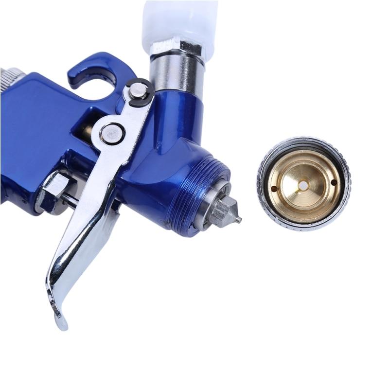 Image 4 - Spray Gun Air Mini Paint Gun 0.8MM/1.0MM Nozzle 0.25mpa Working Pressure 100ml Professional HVLP Air Brush Paint Spray Gun Tool-in Spray Guns from Tools on