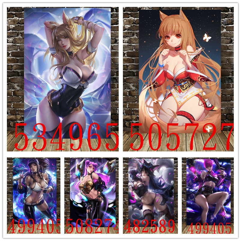 League of Legends Game Poster Anime Canvas Decorative Paintingcanvas Decorative Painting Wall Stickers Home Decoration Supplies