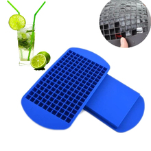 new safety 160 ice cubes mini cube pudding silicone tray mould tool silicone ice mould dishwasher