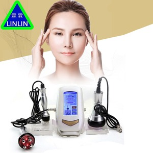 Image 1 - LINLIN 40K fat detector  RF multipole radio frequency  Ultrasound Fat Explosion Weight Loser  Facial Cosmetic Apparatus