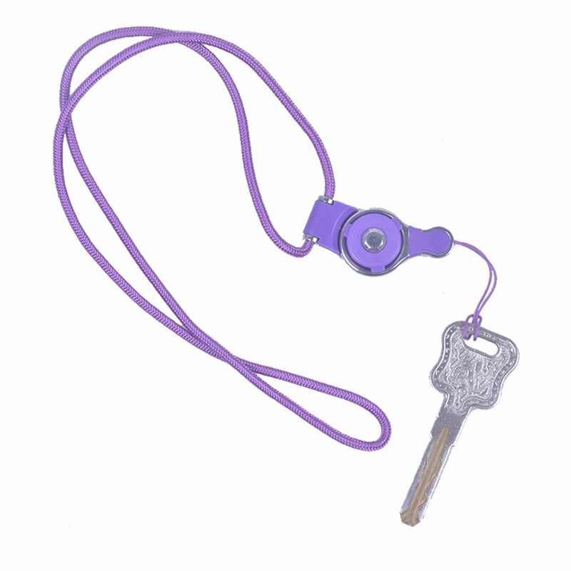 Portefeuille Detachable Long Lanyard Neck Strap For Key id badge holder Xiaomi mi 5 mi5 iPhone 7 6 keycord Mobile Phone Lanyards