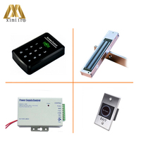 F008 Kit Smart Single Door Access Sontrol Weigand Input Without Software Touch Keypad 125KHZ RFID Card Access Control Reader